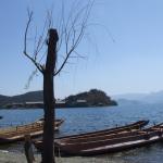 Voyages Yunnan - Lac Lugu - Embarcadere