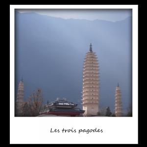 Voyages Yunnan - Dali - Trois pagodes
