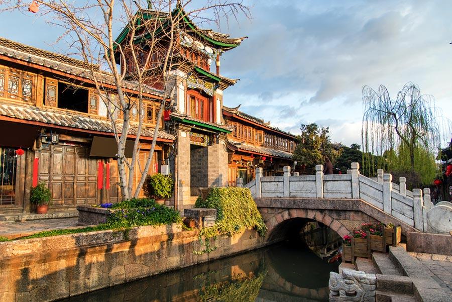 Lijiang vieille ville